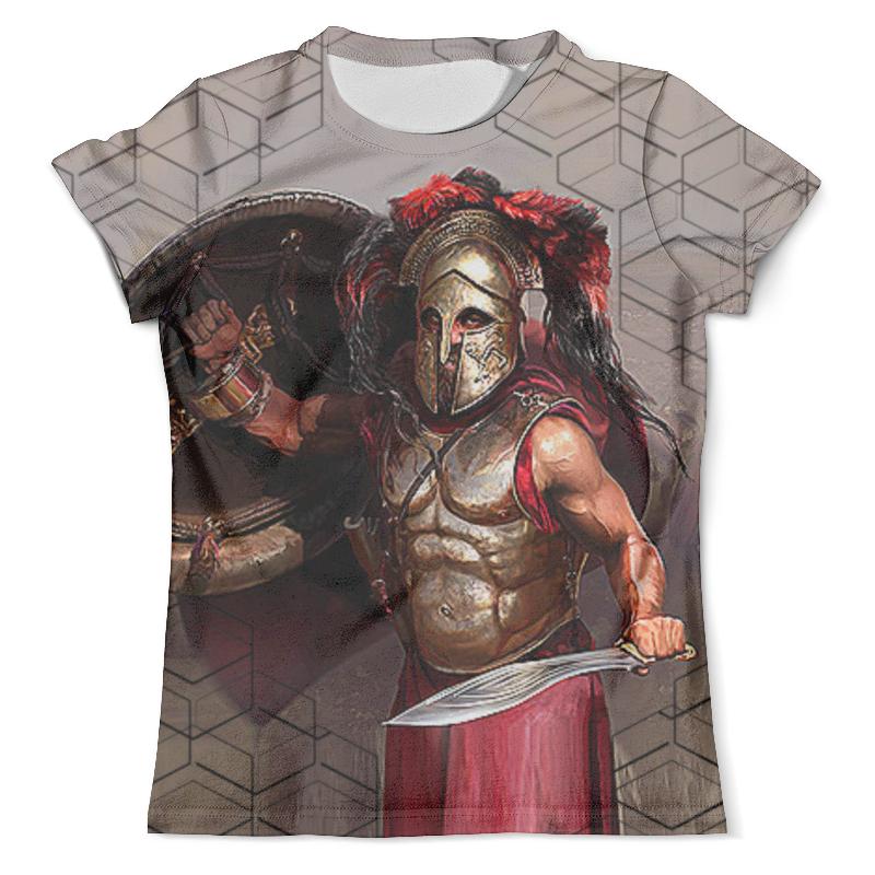 Футболка с полной запечаткой (мужская) Printio Spartacus (new) футболка с полной запечаткой мужская printio spartacus blood and sand
