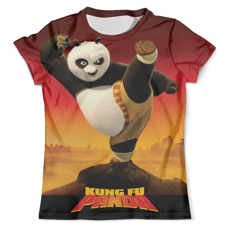 Футболка с полной запечаткой (мужская) Printio Kung fu panda 3 футболка рингер printio kung fu panda