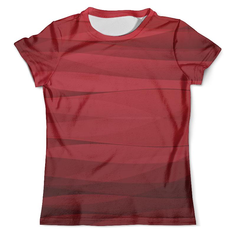 Футболка с полной запечаткой (мужская) Printio Красная абстракция футболка с полной запечаткой мужская printio красная абстракция с ножницами