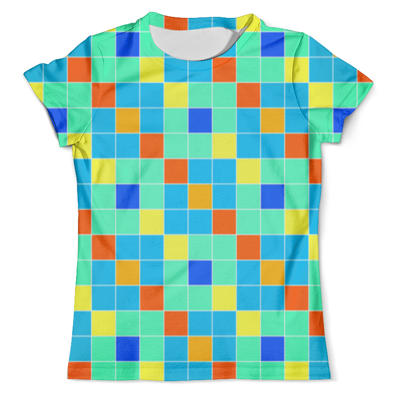 Футболка с полной запечаткой (мужская) Printio Кубики футболка print bar кубики