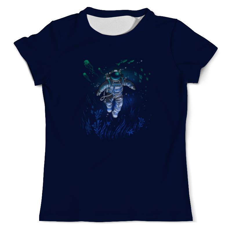 Printio Космическая глубина футболка с полной запечаткой мужская printio космическая пыль