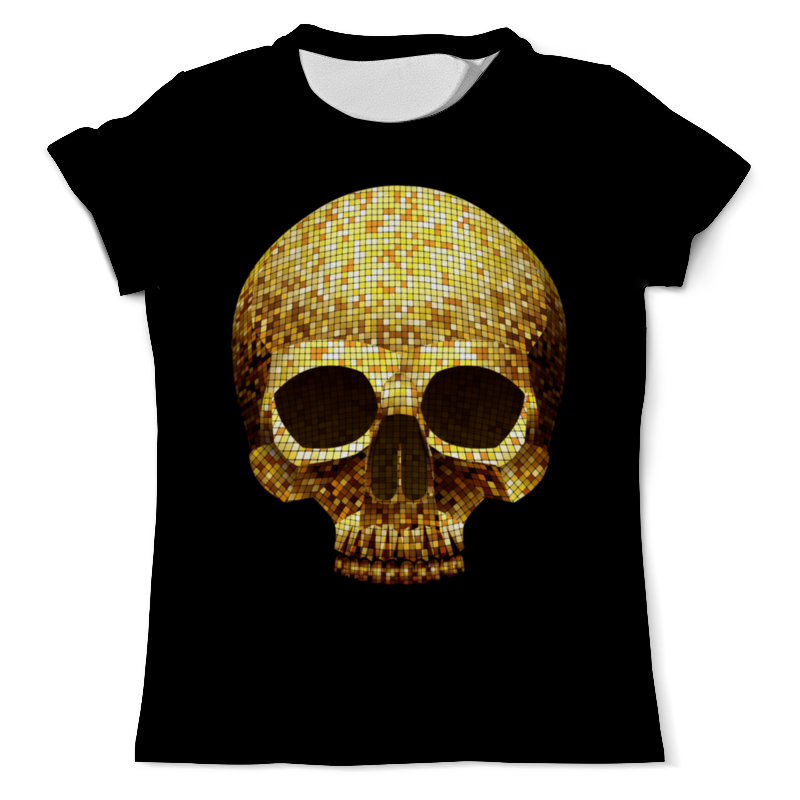 лучшая цена Printio Gold skull