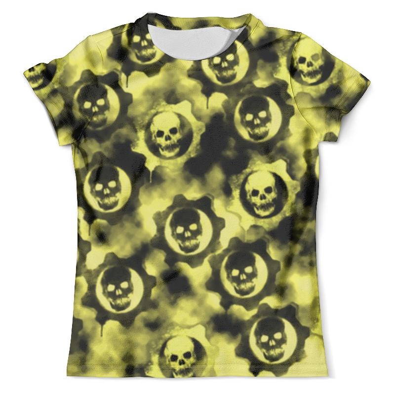 Футболка с полной запечаткой (мужская) Printio Gears of war футболка с полной запечаткой мужская printio dawn of war