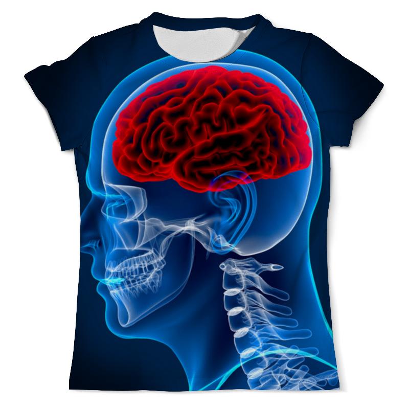 Футболка с полной запечаткой (мужская) Printio X-ray man футболка с полной запечаткой мужская printio x ray vet