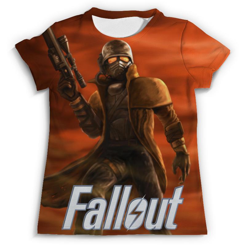 Футболка с полной запечаткой (мужская) Printio Fallout футболка с полной запечаткой для девочек printio fallout