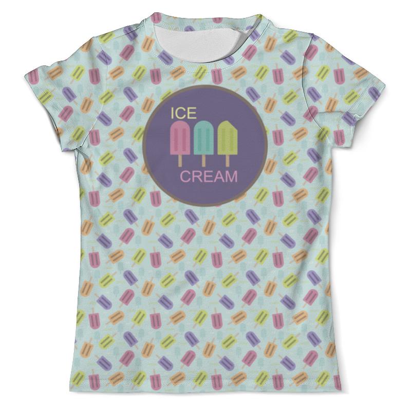 Printio Ice-cream футболка с полной запечаткой женская printio ice cream queen