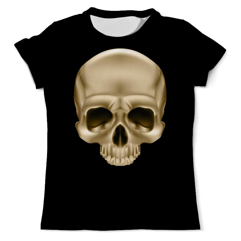 Printio Череп голд (1) футболка классическая printio череп голд
