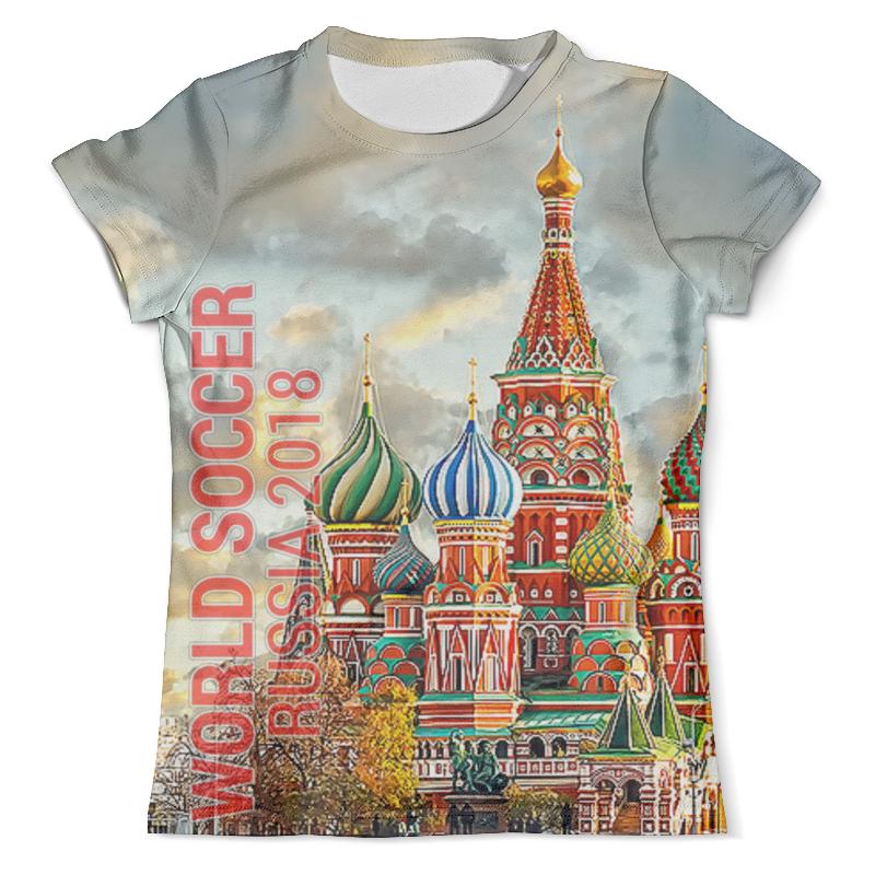 Футболка с полной запечаткой (мужская) Printio Russia design футболка с полной запечаткой мужская printio football russia