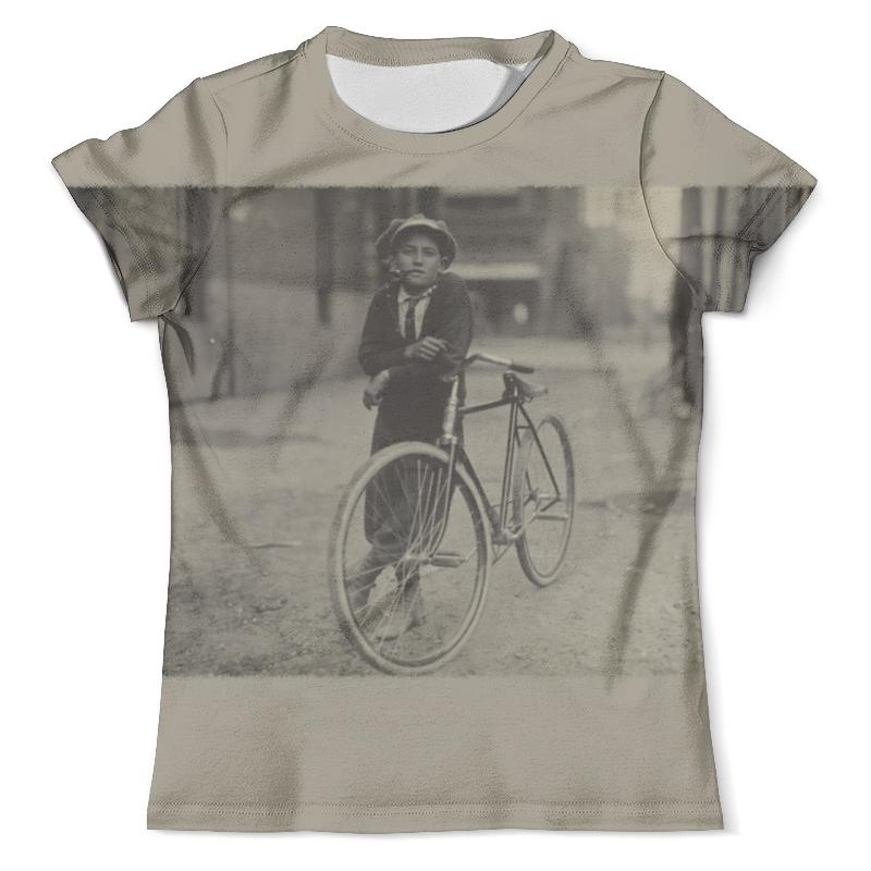 Футболка с полной запечаткой (мужская) Printio Парень на велосипеде футболка с полной запечаткой мужская printio плохой парень