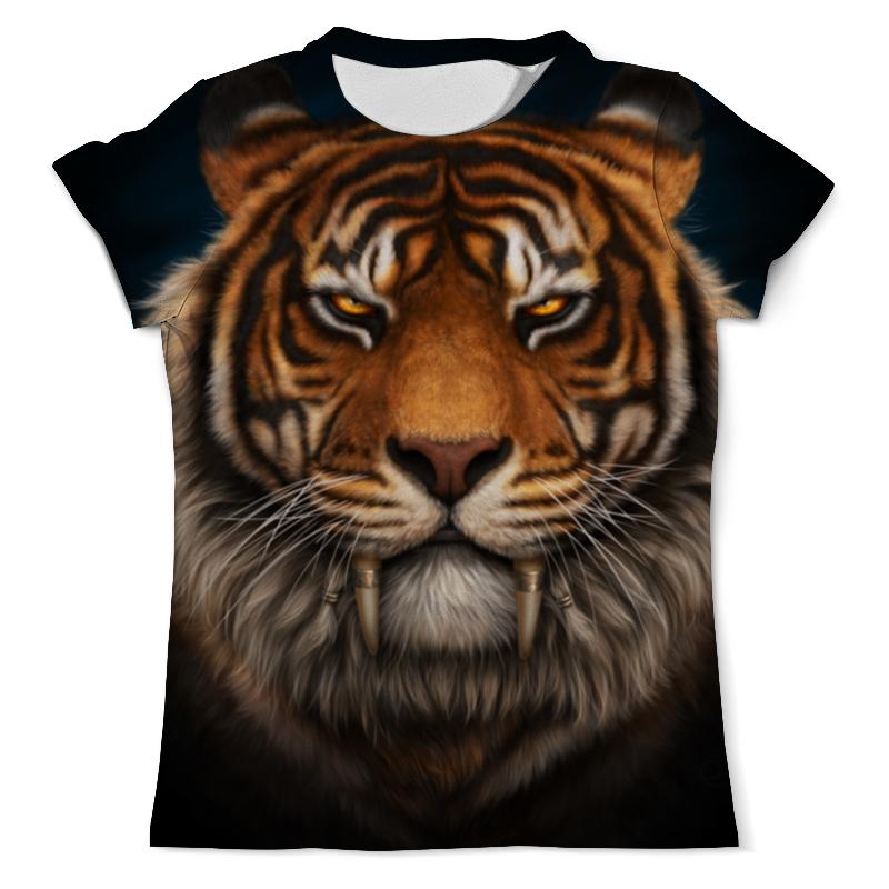 Printio Тигр. футболка с полной запечаткой мужская printio мальчик и тигр