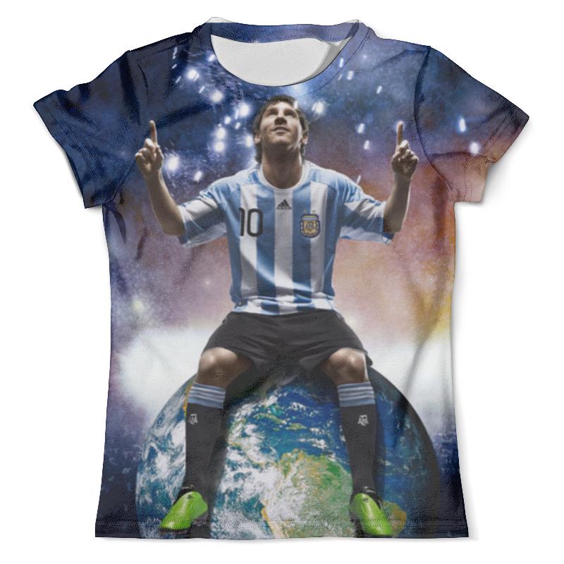 Футболка с полной запечаткой (мужская) Printio Messi футболка с полной запечаткой мужская printio messi