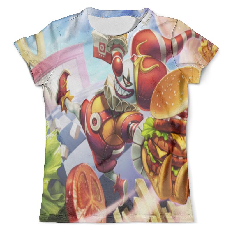 Футболка с полной запечаткой (мужская) Printio Клоун футболка с полной запечаткой мужская printio смешной клоун