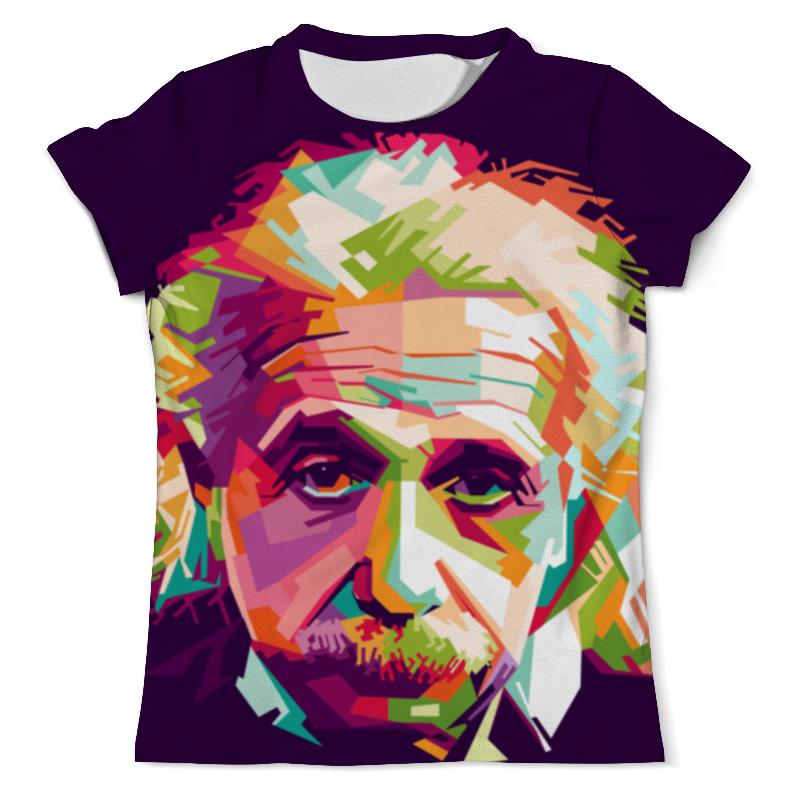 Футболка с полной запечаткой (мужская) Printio Альберт эйнштейн (1) рюкзак с полной запечаткой printio эйнштейн