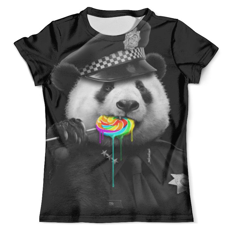 Футболка с полной запечаткой (мужская) Printio Панда коп футболка с полной запечаткой мужская printio панда