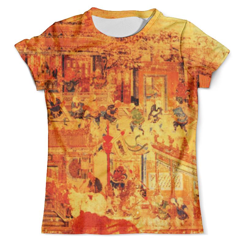 Футболка с полной запечаткой (мужская) Printio Шаолинь футболка с полной запечаткой мужская printio важнейшее из искусств винтаж