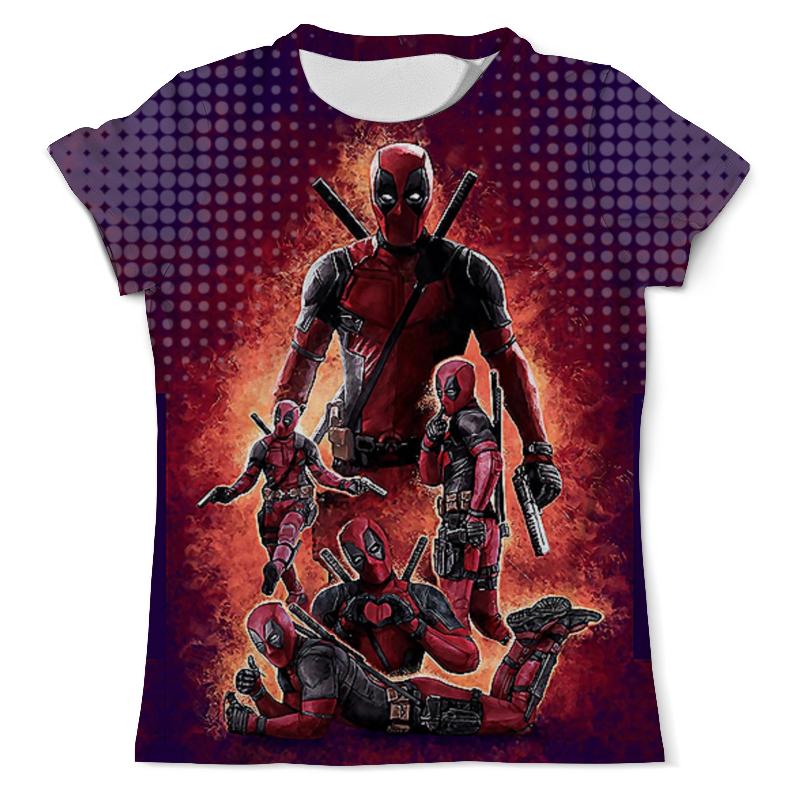 Футболка с полной запечаткой (мужская) Printio Deadpool design (new) new design jiwannian lpg