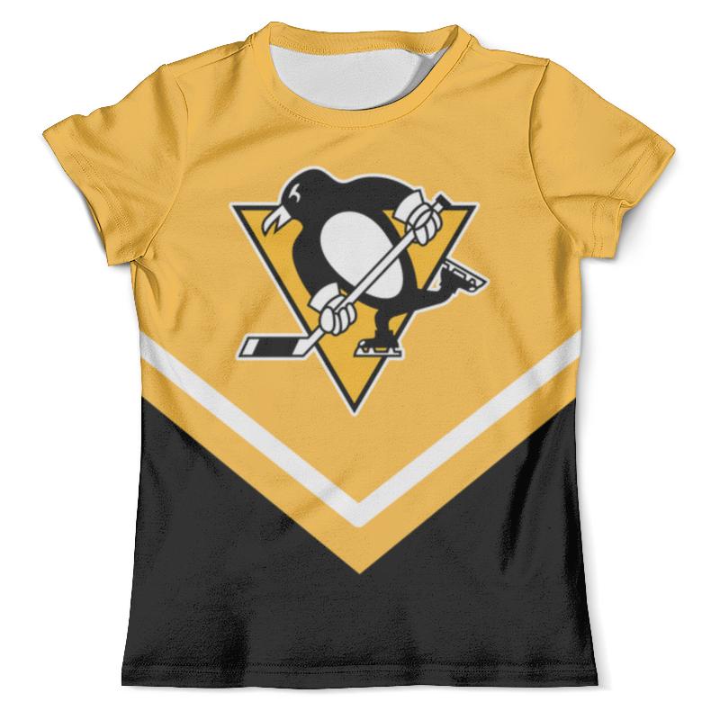 Футболка с полной запечаткой (мужская) Printio Pittsburgh penguins свитшот унисекс с полной запечаткой printio pittsburgh penguins