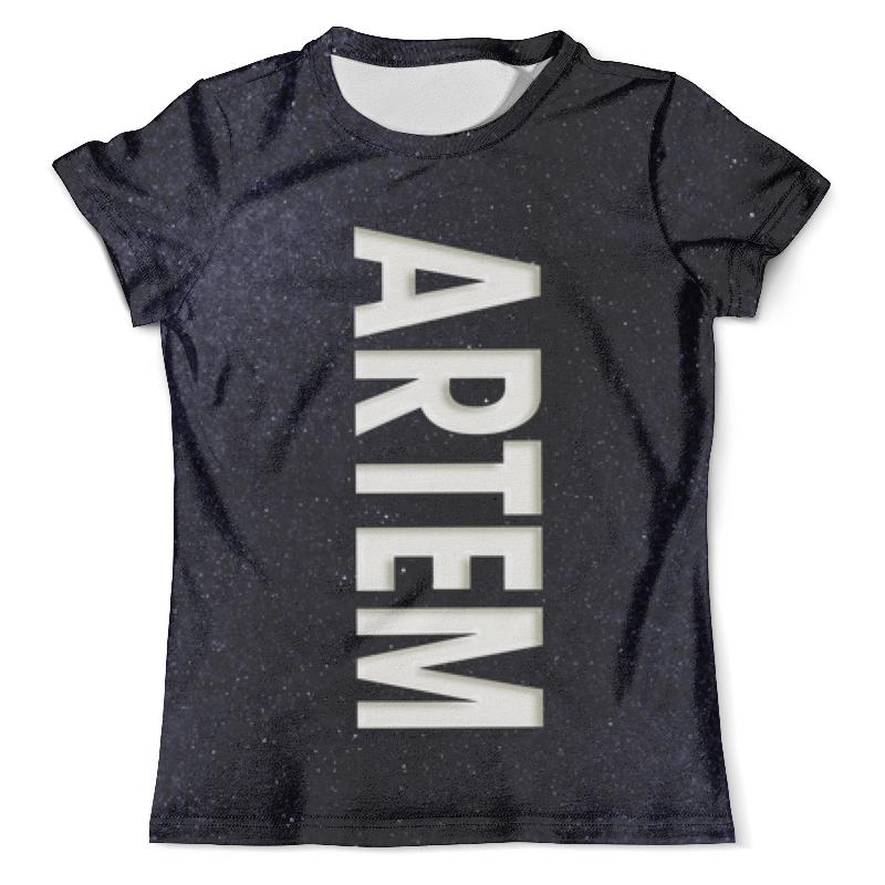 Футболка с полной запечаткой (мужская) Printio Артем футболка с полной запечаткой мужская printio артем