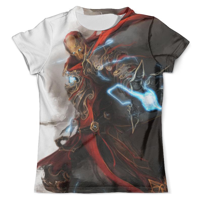 Футболка с полной запечаткой (мужская) Printio Железный человек футболка с полной запечаткой мужская printio железный человек