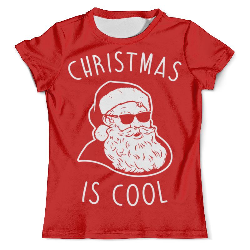 Футболка с полной запечаткой (мужская) Printio Крутой дед мороз футболка с полной запечаткой женская printio крутой дед мороз