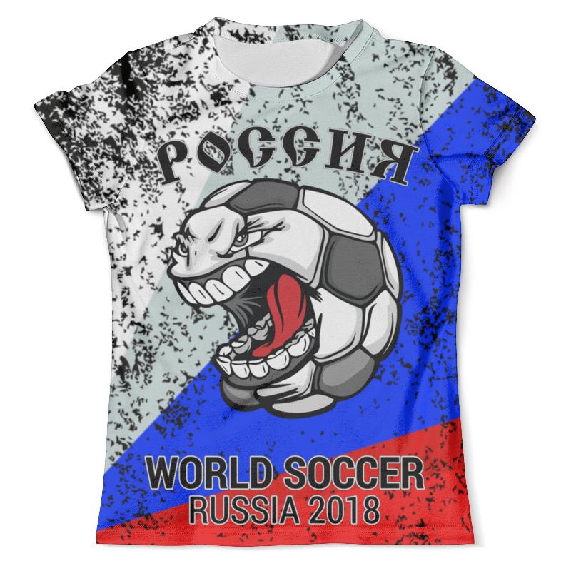 Printio Россия (футбол) футболка с полной запечаткой мужская printio россия кремль футбол