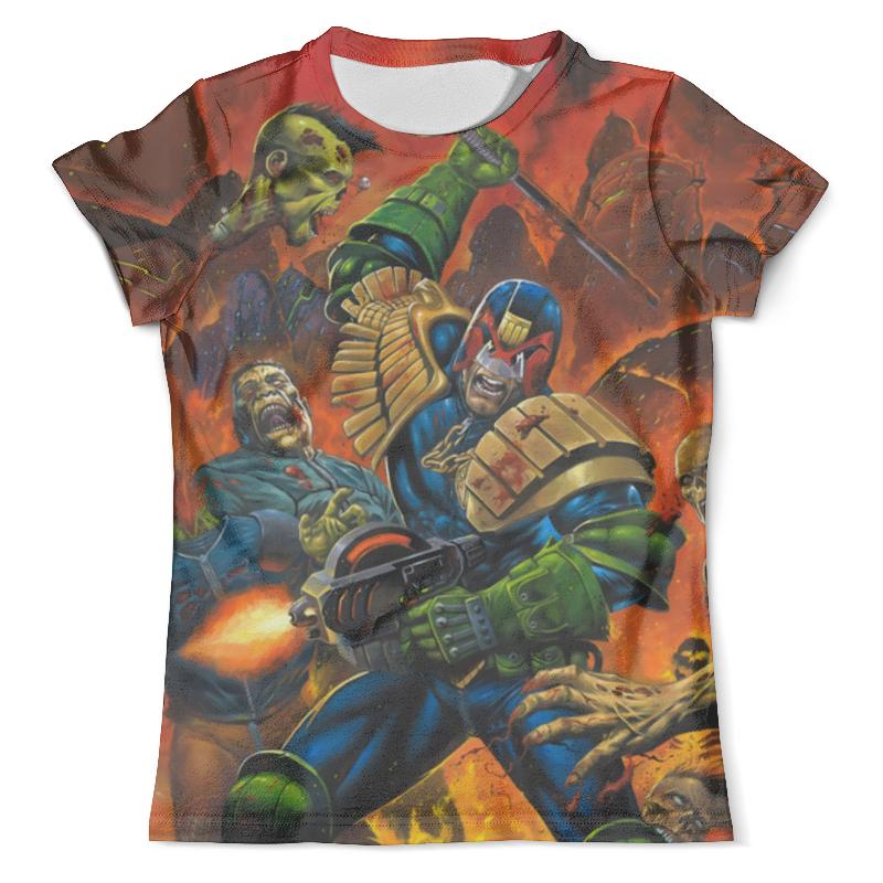 Футболка с полной запечаткой (мужская) Printio Dredd vs zombies футболка с полной запечаткой мужская printio winnie the pooh zombies