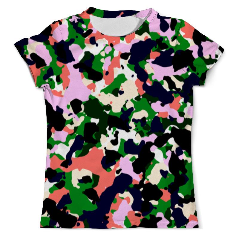 Printio Разноцветный камуфляж футболка с полной запечаткой мужская printio разноцветный текст this is a mouse