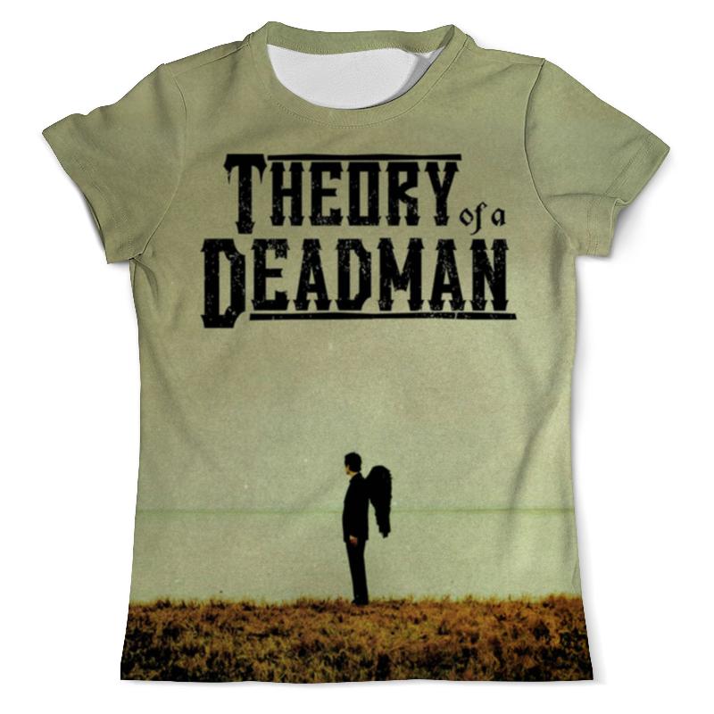 Футболка с полной запечаткой (мужская) Printio Theory of a deadman cd диск theory of a deadman savages 1 cd