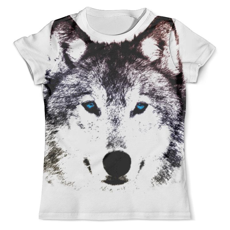 Футболка с полной запечаткой (мужская) Printio Волк (графика) футболка с полной запечаткой мужская printio красная шапочка и серый волк
