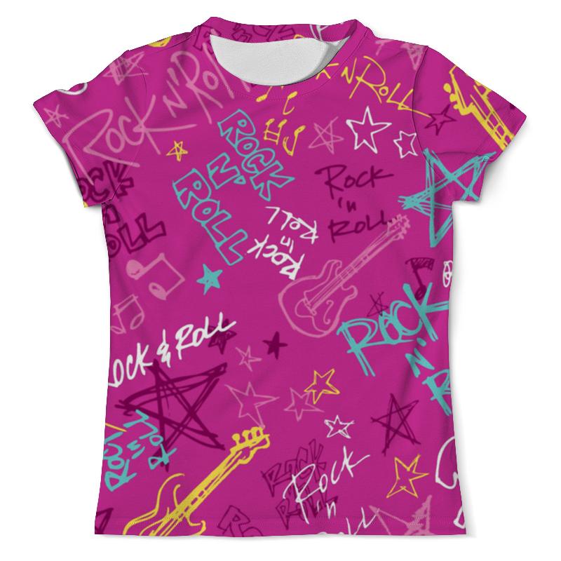Футболка с полной запечаткой (мужская) Printio Rock n roll футболка мужская han chao n w bal nce nb
