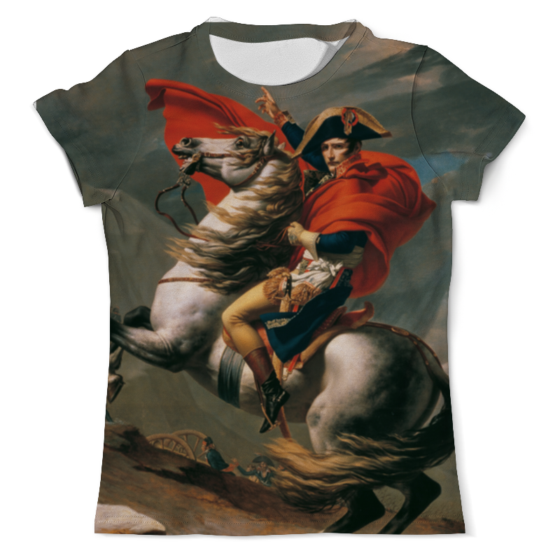 Printio Наполеон на перевале сен-бернар (жак-луи давид) рюкзак с полной запечаткой printio наполеон на перевале сен бернар