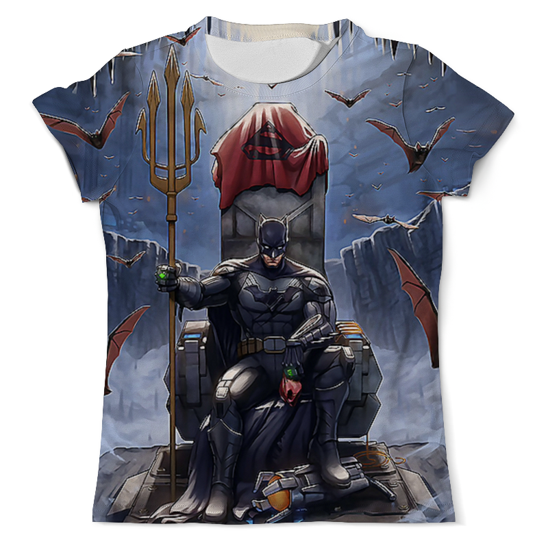 Футболка с полной запечаткой (мужская) Printio Batman (2) футболка с полной запечаткой мужская printio the lego batman movie