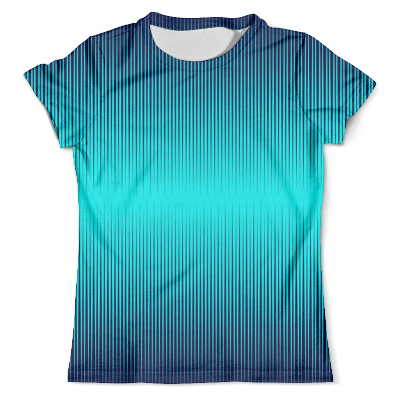Футболка с полной запечаткой (мужская) Printio Синие полосы футболка с полной запечаткой для мальчиков printio синие полосы