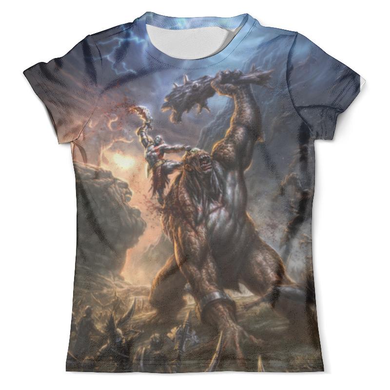 Футболка с полной запечаткой (мужская) Printio God of war футболка с полной запечаткой мужская printio war master