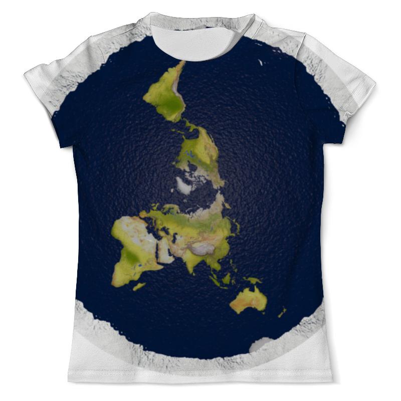 Фото - Футболка с полной запечаткой (мужская) Printio плоская земля (мужская) футболка с полной запечаткой мужская printio земля с луны