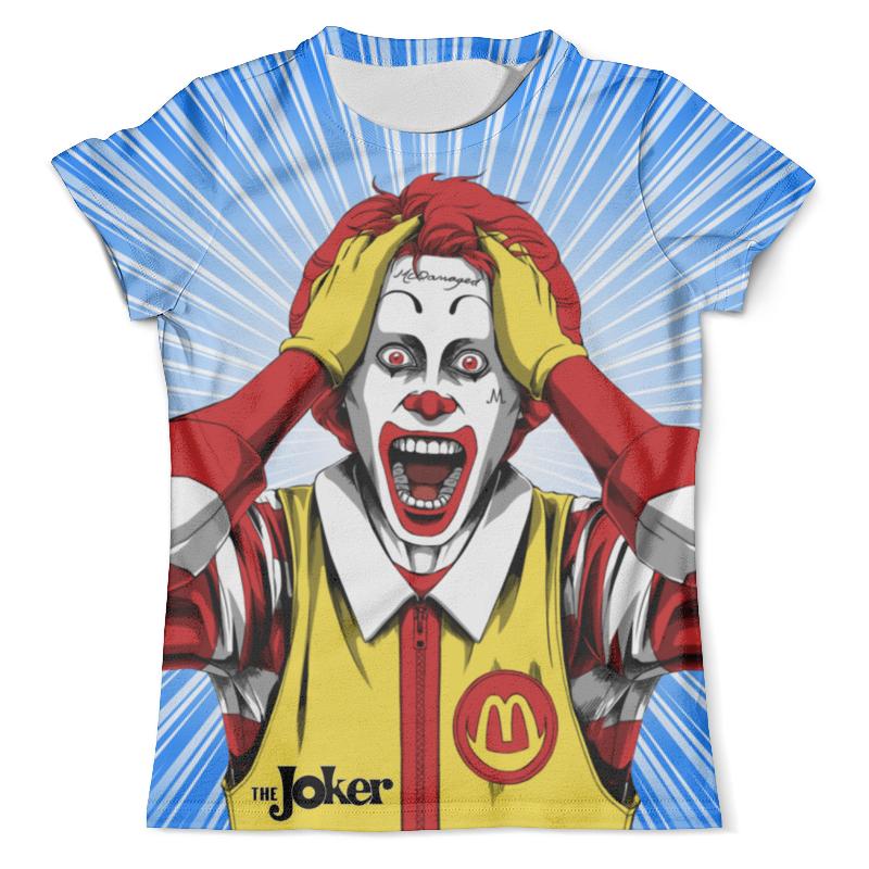 Фото - Футболка с полной запечаткой (мужская) Printio The joker & harley quinn design футболка с полной запечаткой мужская printio the joker design new