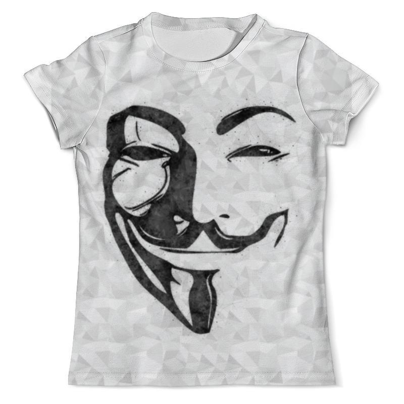 Футболка с полной запечаткой (мужская) Printio Anonimous футболка с полной запечаткой мужская printio на всю катушку