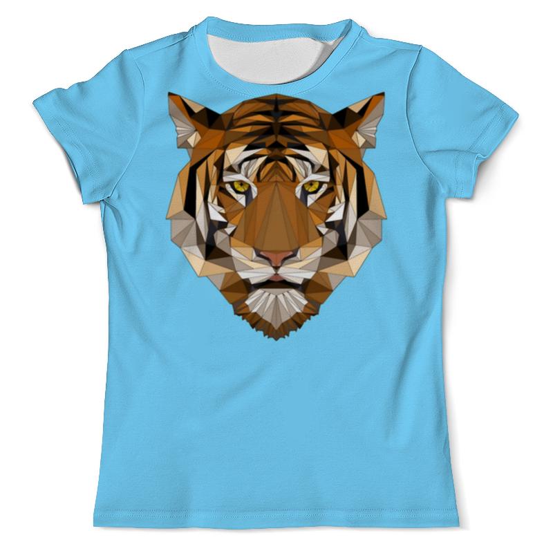 Printio Тигр футболка с полной запечаткой мужская printio амурский тигр