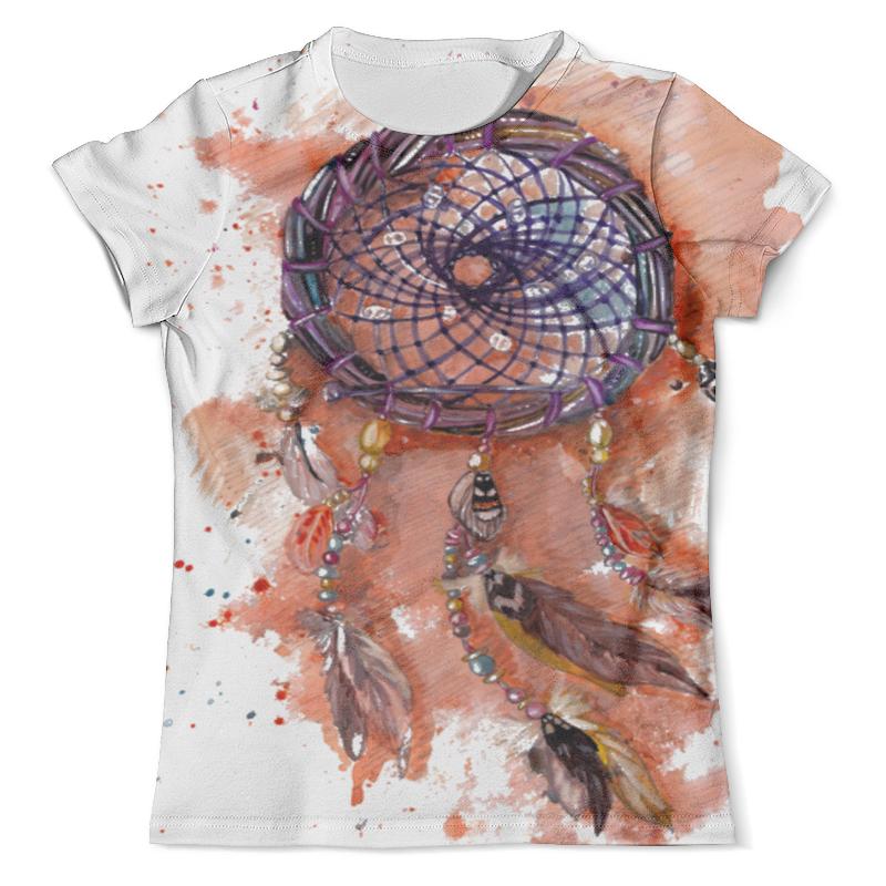 Футболка с полной запечаткой (мужская) Printio Оранжевый ловец снов футболка с полной запечаткой для мальчиков printio ловец снов