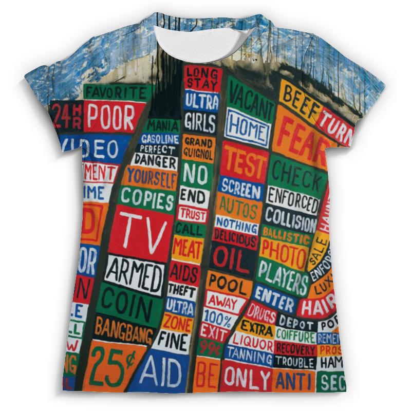 Футболка с полной запечаткой (мужская) Printio Radiohead album full print t-shirt radiohead stockholm