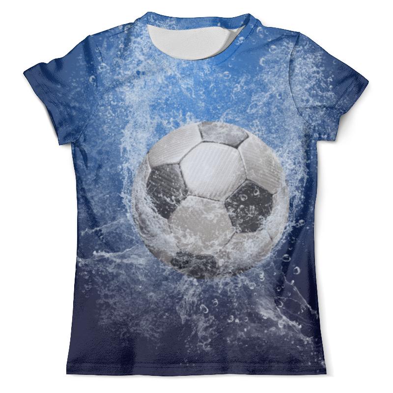 Футболка с полной запечаткой (мужская) Printio Сила футбола футболка школа футбола спб