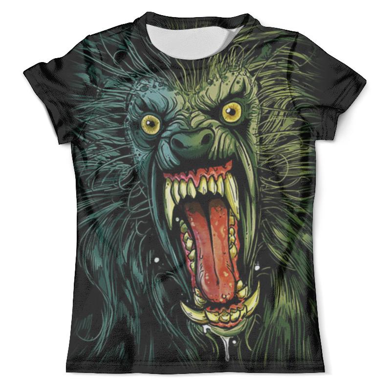 Футболка с полной запечаткой (мужская) Printio Оборотень/werewolf футболка с полной запечаткой для мальчиков printio werewolf