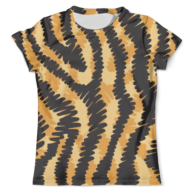 Футболка с полной запечаткой (мужская) Printio Тигровый футболка с полной запечаткой мужская printio сара керриган старкрафт