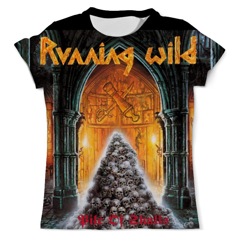 Футболка с полной запечаткой (мужская) Printio Running wild band футболка running wild