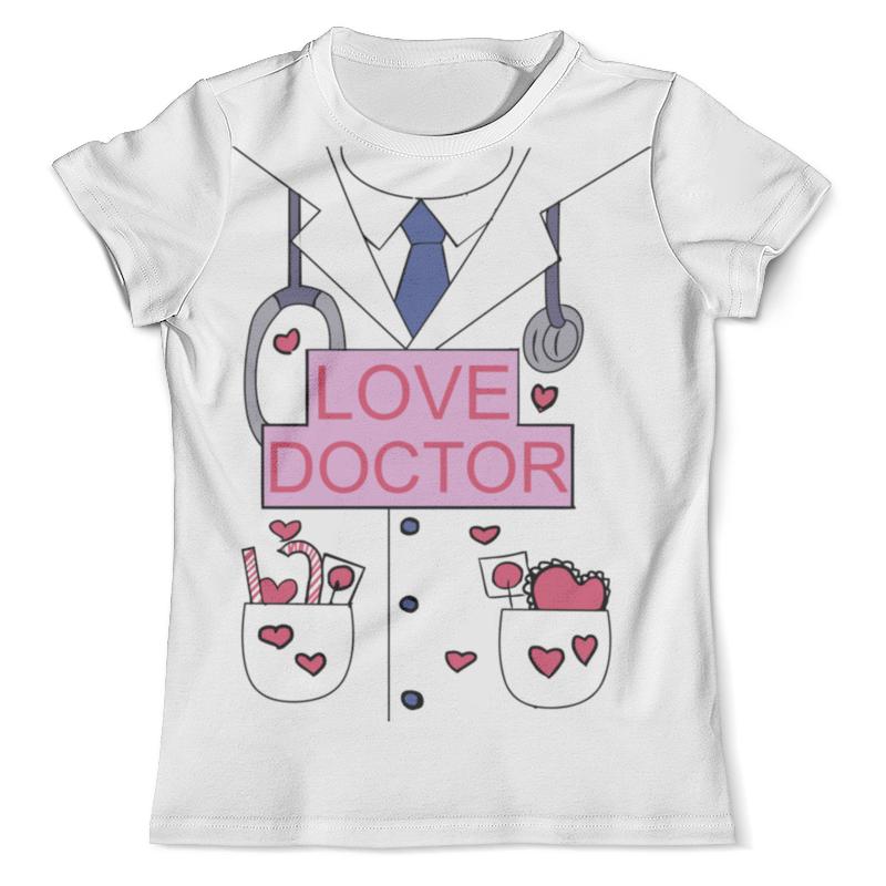 Футболка с полной запечаткой (мужская) Printio Доктор-любовь футболка с полной запечаткой мужская printio любовь моя религия