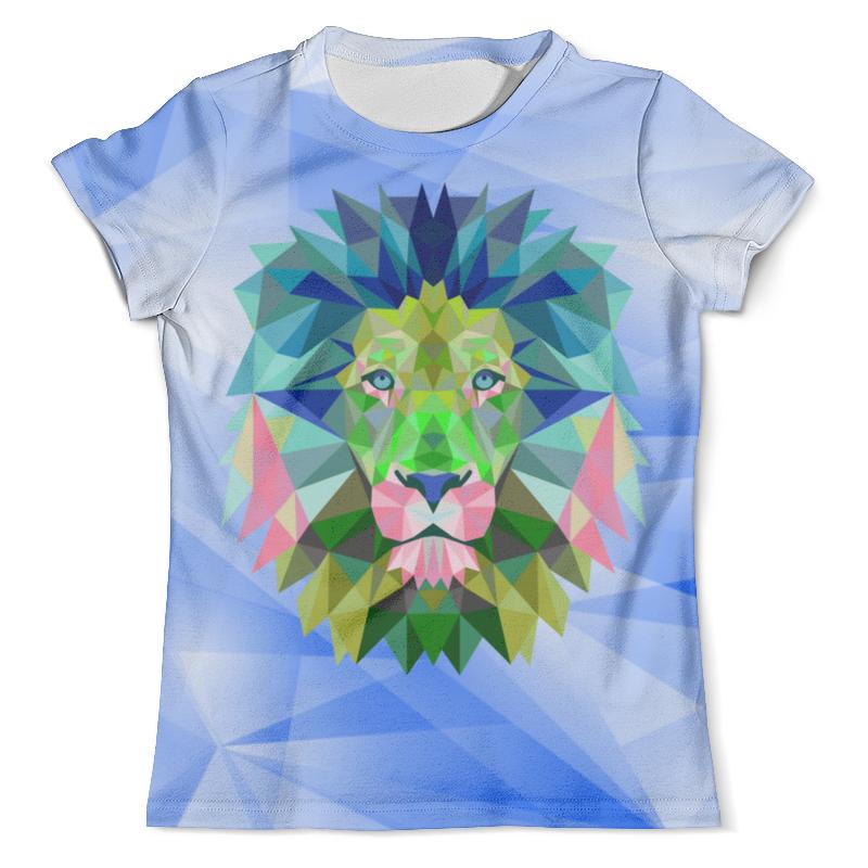 Футболка с полной запечаткой (мужская) Printio Lion design футболка с полной запечаткой мужская printio ananas design