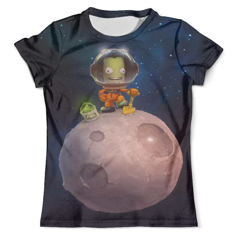 Футболка с полной запечаткой (мужская) Printio Kerbal space program футболка с полной запечаткой мужская printio space race