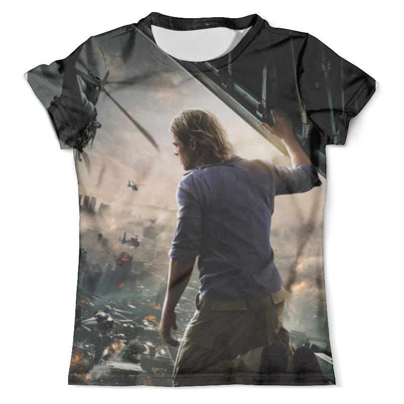 Футболка с полной запечаткой (мужская) Printio Война миров z футболка print bar война миров z