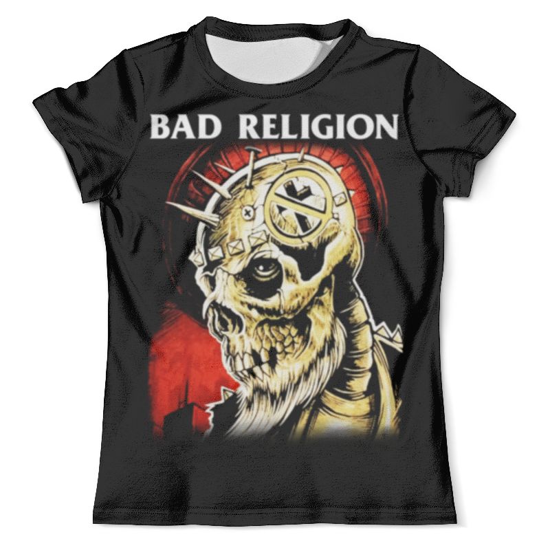 Футболка с полной запечаткой (мужская) Printio Bad religion футболка religion religion re881emvfu39