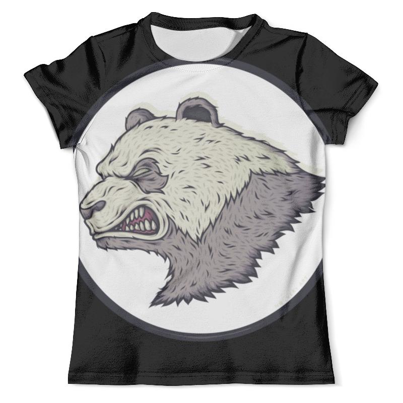Футболка с полной запечаткой (мужская) Printio Angry panda / злая панда футболка с полной запечаткой мужская printio панда